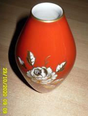 Wallendorfer Porzellan 1764 Vase Goldrelief