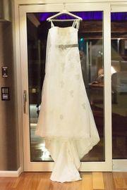 Hochzeitskleid Brautkleid ca Gr 38