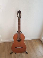 Ortega Linkshändergitarre