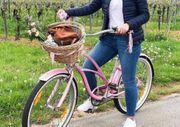 Electa Damen Fahrrad in pink
