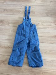 Skihose blau Gr 74-80