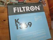Innenraumfilter Pollenfilter Filtron K1369