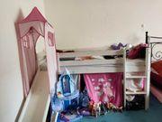 Kinderbett Hochbett mit Rutsche