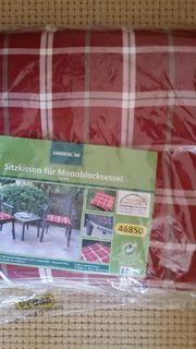 Sitzkissen 2er Set für Monoblock