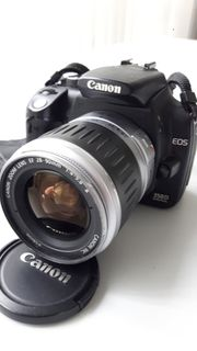 Canon eos 350d inkl 28-90mm