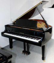 Flügel Klavier Yamaha G3 schwarz