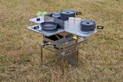 Campingküche Kochbox Gaskocher mobile Küche