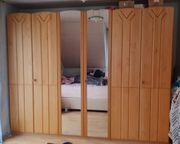 Schlafzimmerschrank Erle teilmassiv