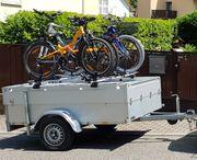 Anssems Anhänger mit Fahrradträger 100er