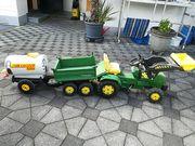 John Deere Kindertraktor mit Hänger