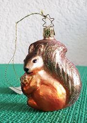 Eichhörnchen Weihnachtsbaumschmuck Inge Glas