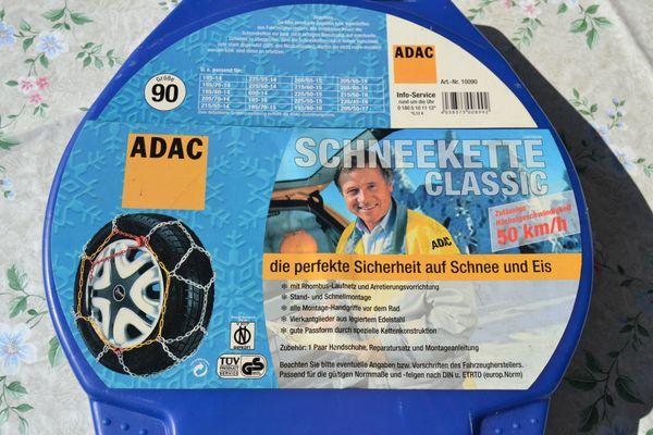Verkaufe ADAC Schneekette Classic Größe