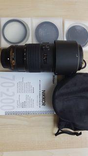 Objektiv Nikkor AF-S 70-200mm Vollformat