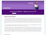 Technischer Projektleiter - Digitales Lernen m