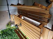 Echtholz Gartengarnitur