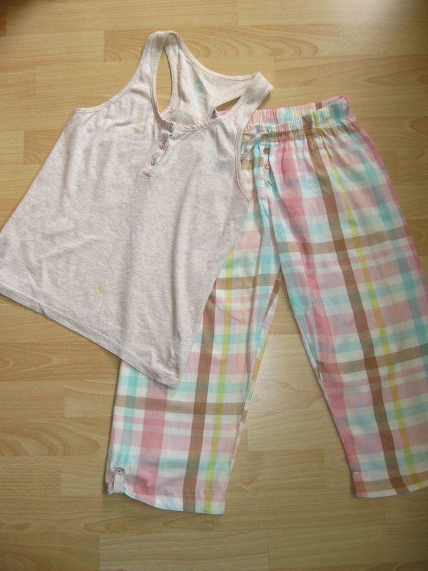 Leichter Schlafanzug Gr 34 XS