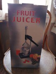 Fruit Juicer - Obstpresse NEU