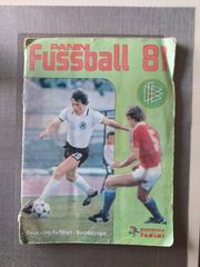 Panini Fußball 81 1981 Sammelalbum