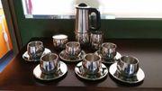 AMC 6teiliges Espressoservice doppelwandig