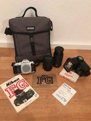 Verkaufe Nikon FG 2 Tokina