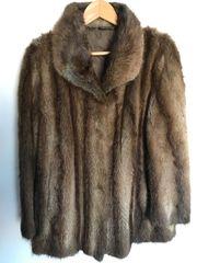 Pelz Jacke aus den 70