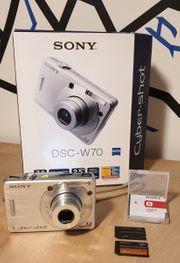 Sony DSC-W70 zu verkaufen