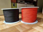 Hochwertige PES-Netzschnur Polyester-Seil orange und