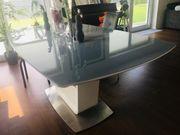 Esstisch Glas Ausziehbar