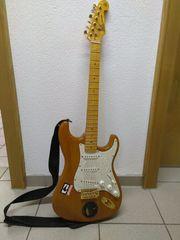 E-Gitarre und VerstÃEURrker