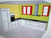 Einbau Küche Weiß Hochglanz inkl