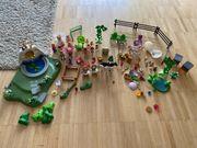 Playmobil Mädchen Fee mit Brunnen