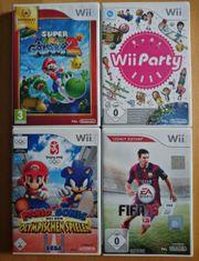4 Wii Spiele