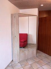 Praktischer Eckschrank Kleiderschrank - 95 cm