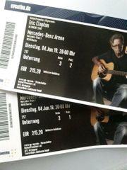 2 x Clapton - Berlin Mercedes-Benz-Arena