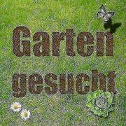 Garten gesucht - egal ob zur