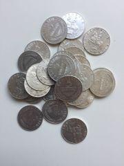 30 Stück 5 Schilling Silbermünzen