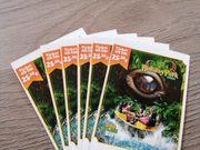 Holiday Park Karten 6 Stück