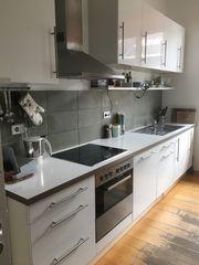 Küchenzeile Weiß hochglanz