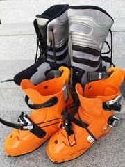 Tourenschuh Scarpa Laser orange