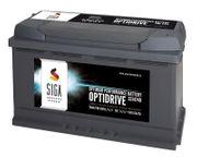 SIGA OptiDrive 74Ah 12V Autobatterien