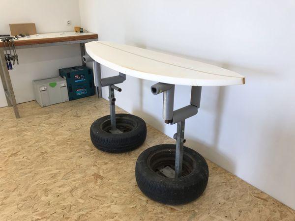 Surfboard Shaping Ständer & Blank