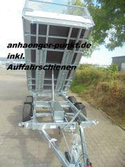 PKW Anhänger XL Dreiseitenkipper 3-