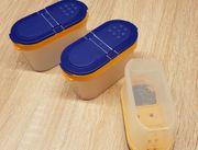 Tupperware Gewürz-Zwerge 3 Vorratsbehälter