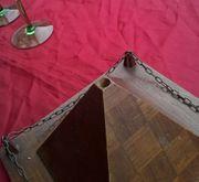 Holz Pyramide Fahnenhalter