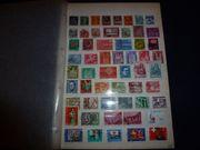 Sammlung 256 gestempelter schweizer Briefmarken