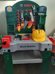 Bosch Work-Station für Kinder