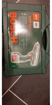 Bosch Akkuschrauber PSR 960