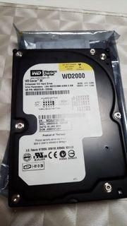 Western digital Festplatte 200gb