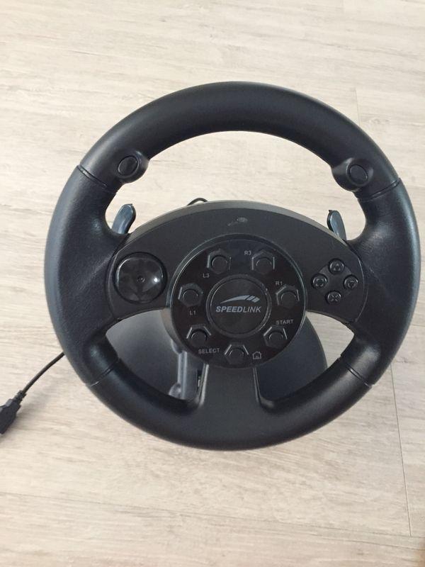Speed Lenkrad PS 3