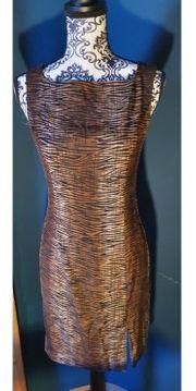 Designerkleid aus Seide von Sandra